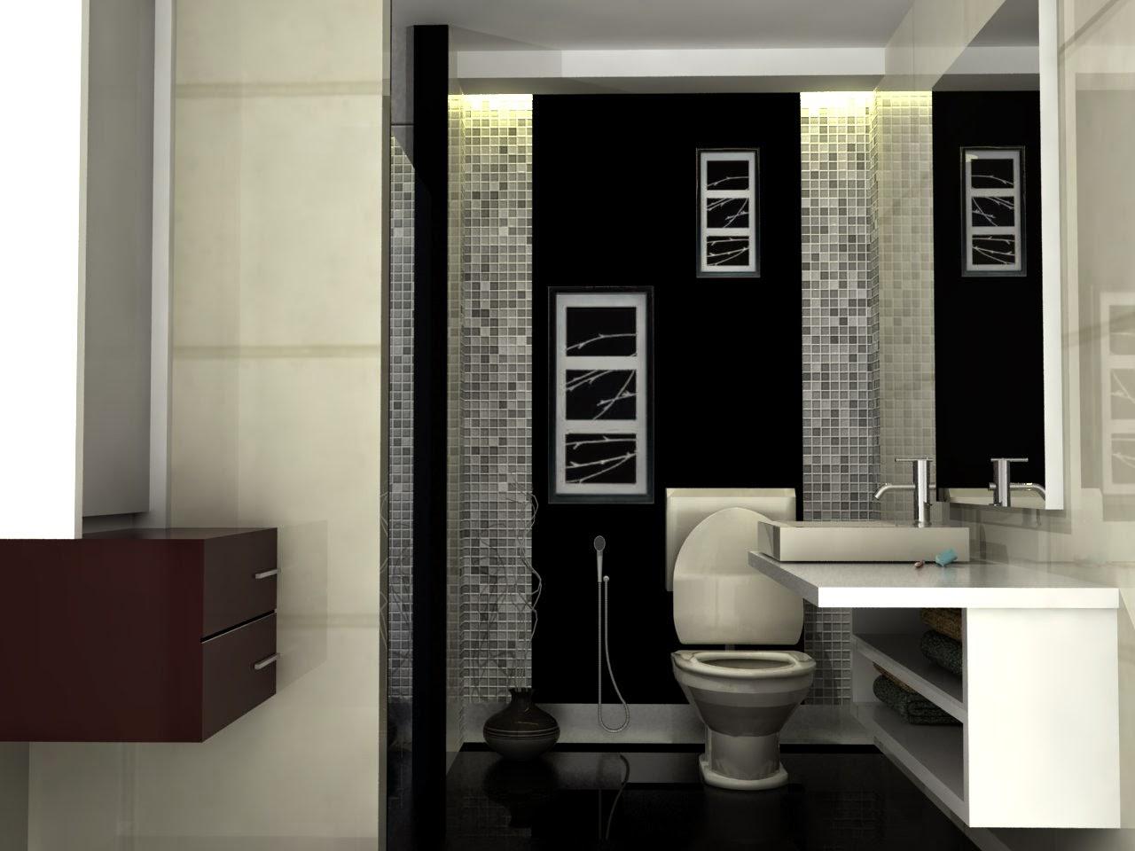 Kamar mandi minimalis 5