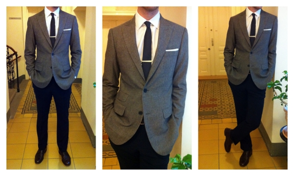 Indochino Review: Transatlantic Traveler Blue Suit & Brown Tweed ...