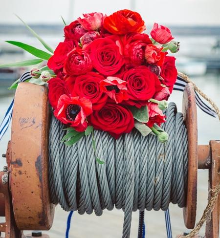 marintbröllop, havsinspirerat bröllop, nautisktbröllop, rött vitt och blått bröllop, red blue and white wedding, maritime wedding, nautic wedding, sea inspired wedding, yacht club wedding