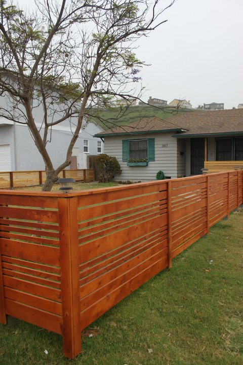 look what jeff did looking back at what jeff built front yard fence. Black Bedroom Furniture Sets. Home Design Ideas