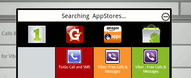 how to search on windows 8 store