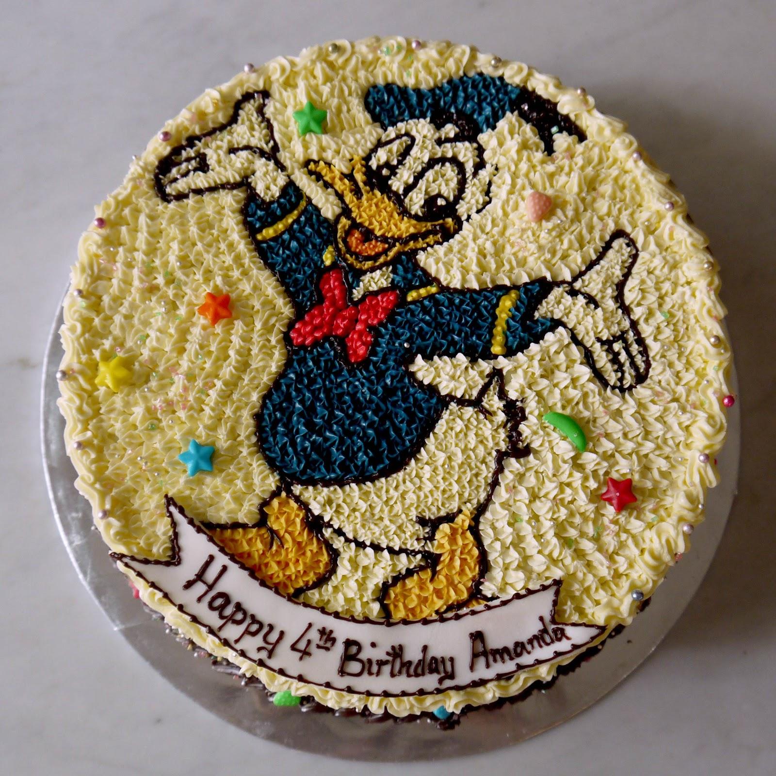 Sweet Indulgence Kuching Donald Duck Birthday Cakes