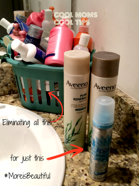 cool moms cool tips women's rogaine simplifying my hair routine
