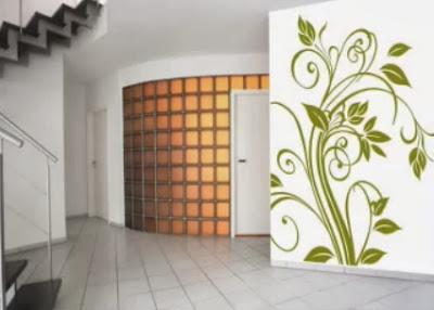 Ideas con vinilos para decorar bajo escaleras hogar - Decorar pared escalera ...