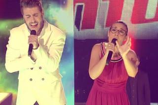 Antonio Orozco canta con su equipo Una y otra vez-La Voz 2015 Semifinales
