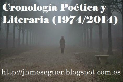 Cronología Poética y Literaria (1974/2014)