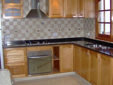 Ixtus amoblamientos muebles de cocina madera for Amoblamientos de cocina a medida precios