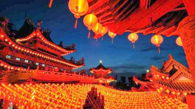 Año nuevo no es festivo en China