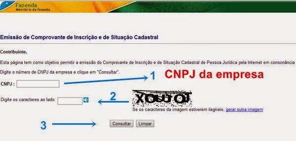 descobrir cnae de uma empresa pelo cnpj