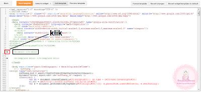 Tutorial : Cari Kod ]]></b:skin> Secara Manual
