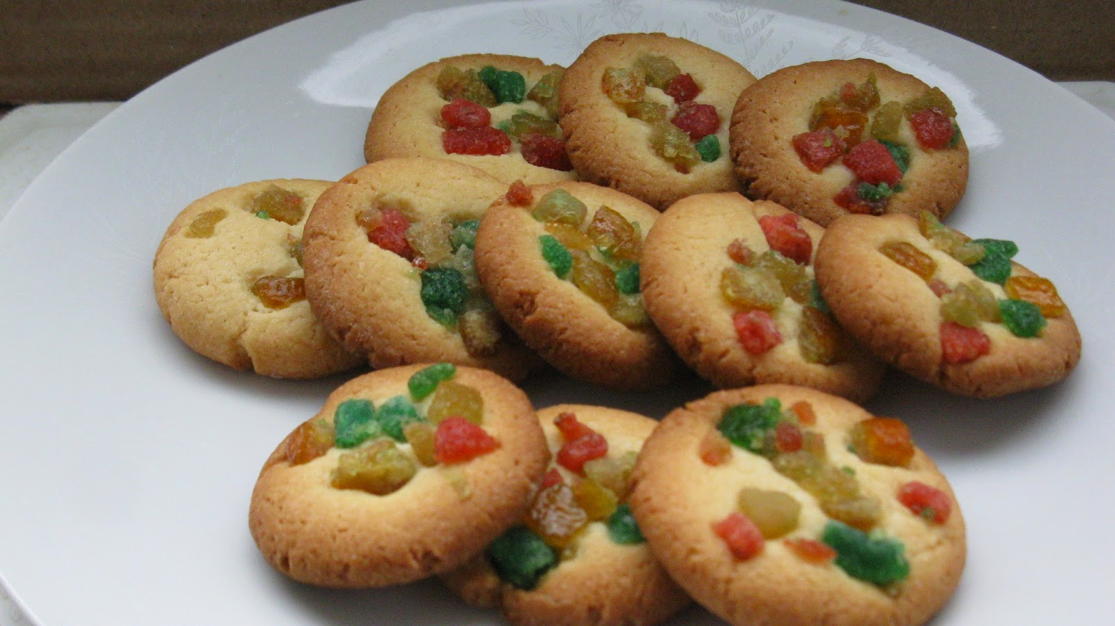 Mixed Fruit-and-Nut Cookies Recipe — Dishmaps