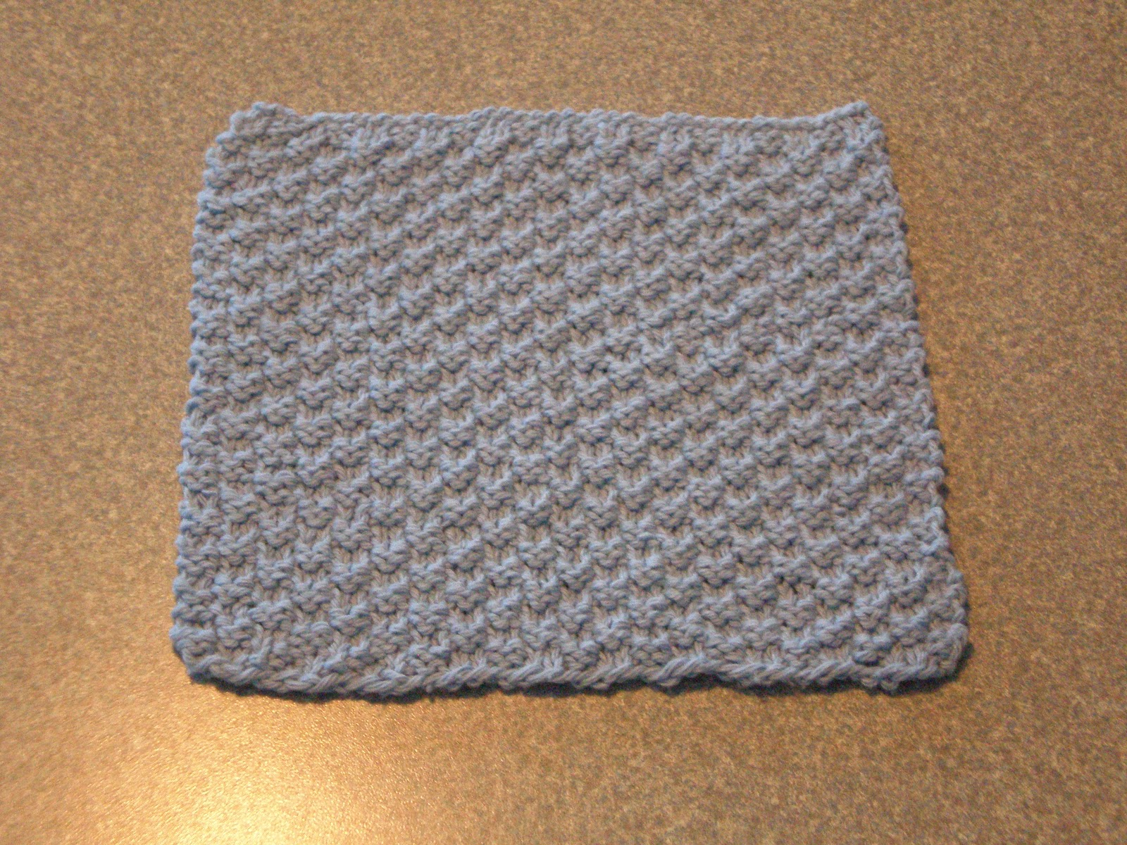 My Useless Crafts and Such: Box Stitch Dishcloth