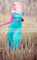 Rancangan Model Busana Muslim Casual Zoya