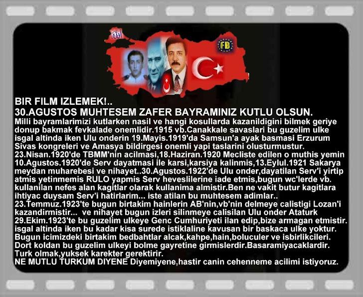 30.AGUSTOS ZAFER BAYRAMINIZI KUTLARIZ.BUKET TURKAY