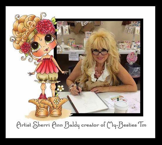 Artist Sherri Ann Baldy