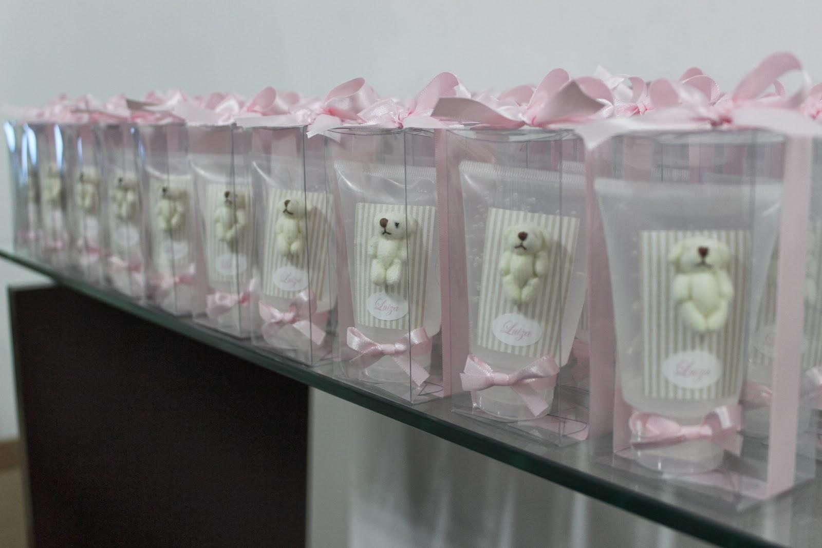 Well-known Lembrancinha 11 - Bisnaga de álcool em gel com micro ursinho  CJ52