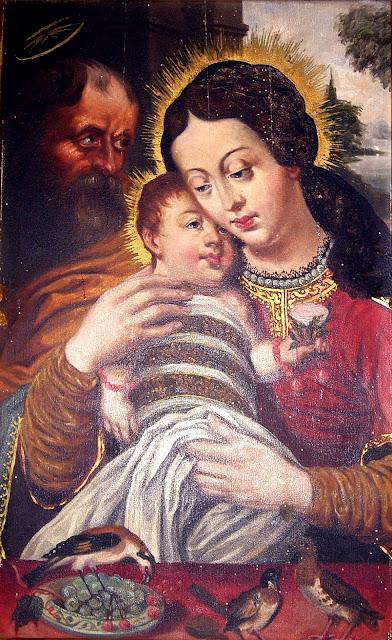 Matka Boska Dzikowska – kopia cudownego obrazu z Tarnobrzega, namalowana w 1918 r. przez Tadeusza Korpala, kościół św. Anny, Końskie, 2010.