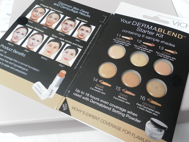 A picture of Vichy Derma Blend Starter Kit