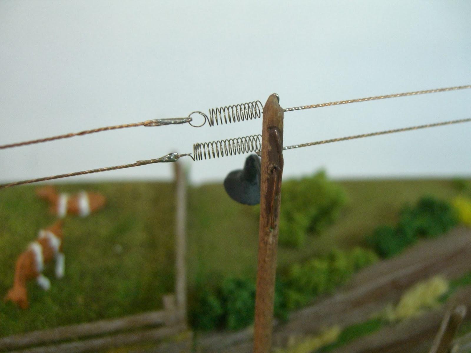 Paso a paso con h0 montaje de farolas sobre postes madera - Farolas de pared ...