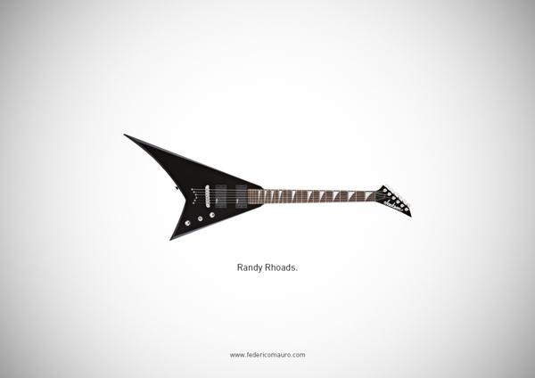 Federico Mauro. Famous Guitars
