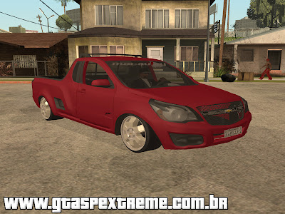 Chevrolet Montana 2011 Edit + R15 para GTA San Andreas
