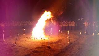 Api Unggun di Buper Sekipan