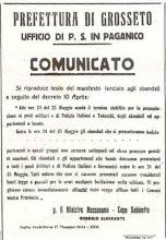 IL BANDO DI ALMIRANTE - 17 maggio 1944