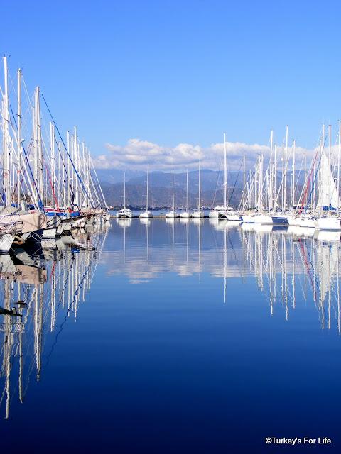 Yachts At Fethiye Marina