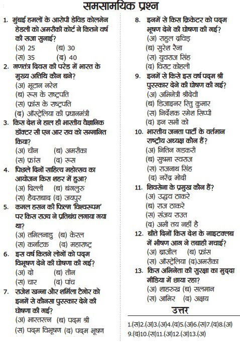 current topics in hindi language