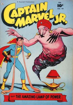 Captain MArvel Jr 94 cover: The Lamp of Power