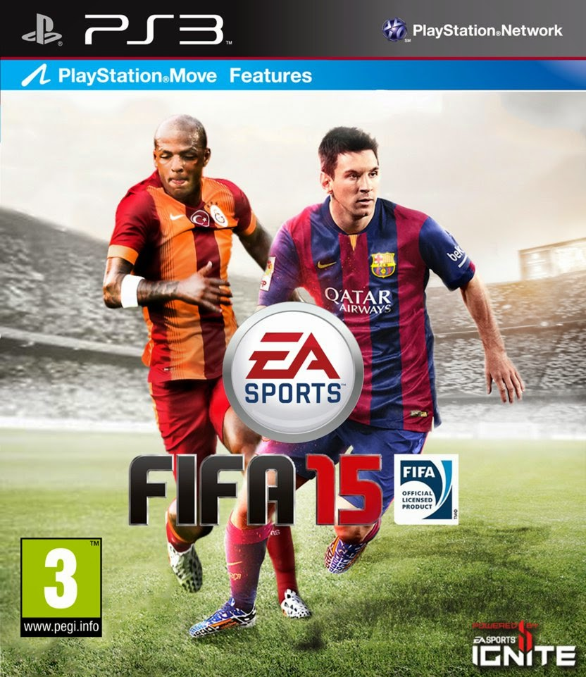 FIFA 15 PS3 Game Free Download