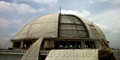 Kubah Masjid Dengan Bahan GRC dan Harga Terbaru