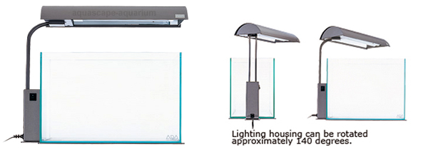 Aquarium Lighting Systems ADA Solar Mini Black
