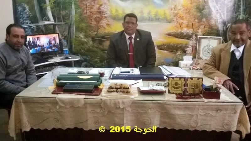 ادارة بركة السبع التعليمية, الخوجة, عصام احمد السيد سلام, عصام سلام, مدير عام ادارة بركة السبع التعليمية,