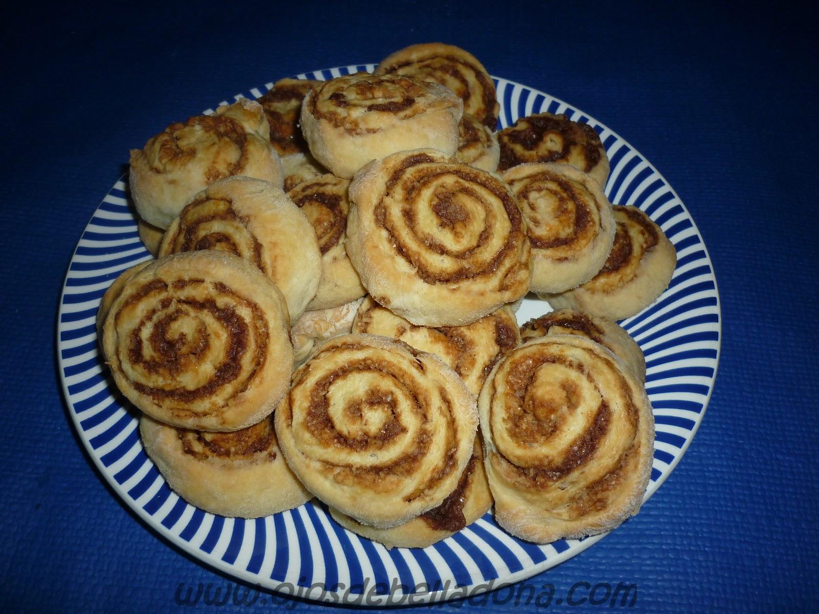 Kanelbullar, rollitos de canela, comidas del mundo, Suecia, sueca