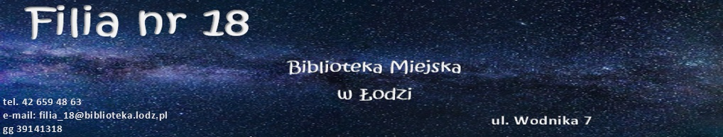 Biblioteka Miejska w Łodzi FILIA NR 18