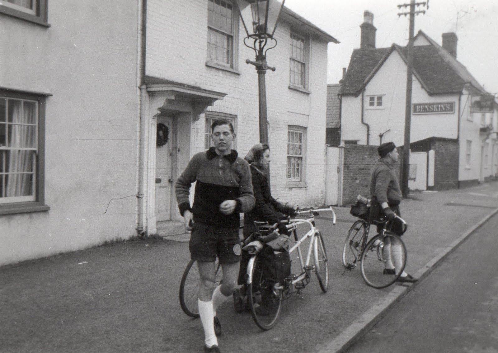 Christmas morning 1957