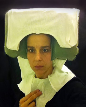Nina Katchadourian - Lavatory Self Portraits in the Flemish Style from Seat Assignment