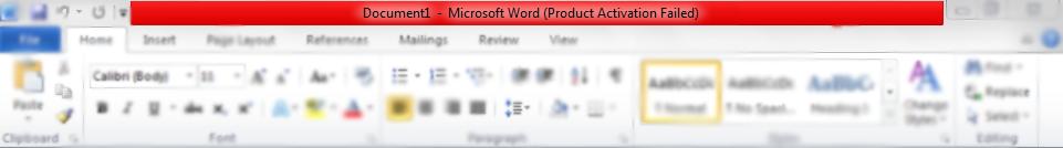 bueno eso significa que tu producto se instalo sin esta clave por lo