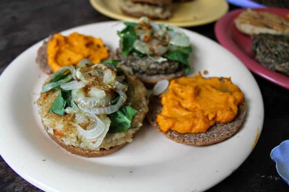 La cocina de los duendes tips para crear hamburguesas de - Hamburguesa de verduras ...