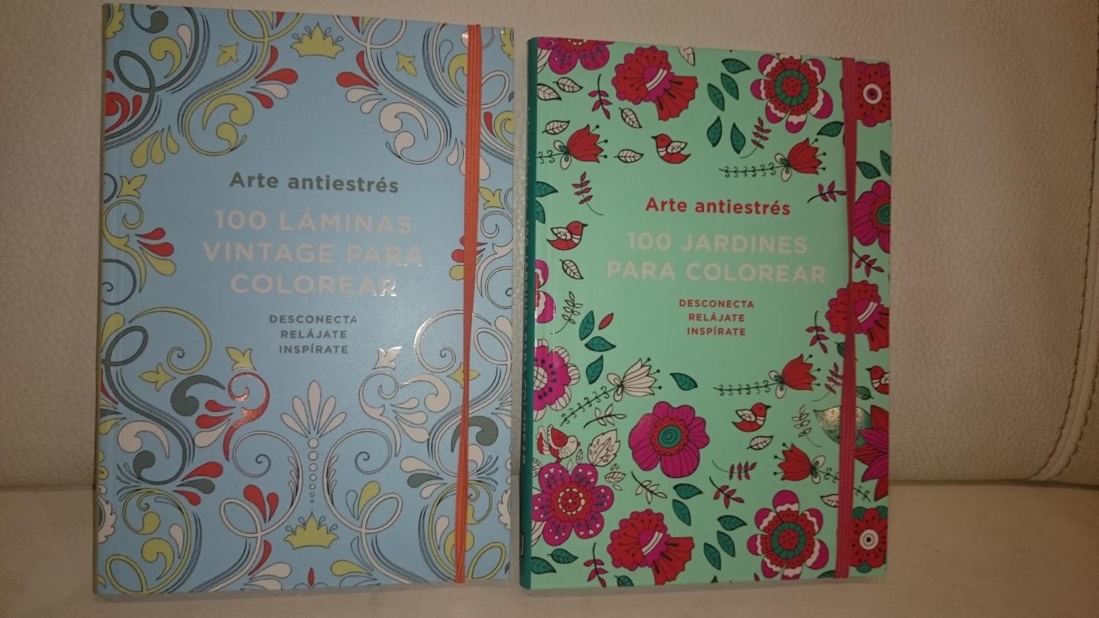 Libros que hay que leer: Arte antiestrés: 100 jardines para colorear ...