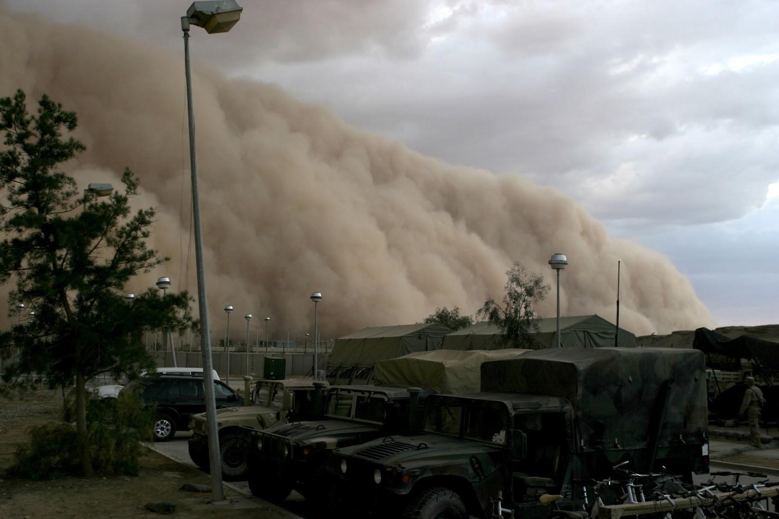 Tempestades de areia