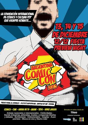 Póster de Argentina Comic-Con