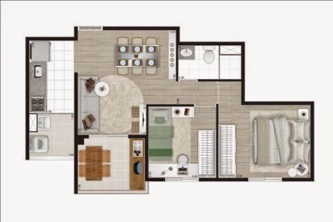 apartamento na planta barra funda 3 dormitórios