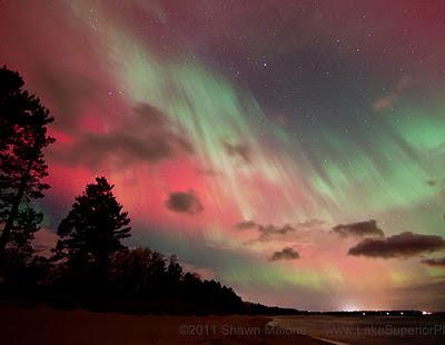 auroras boreales 25 de octubre 2011