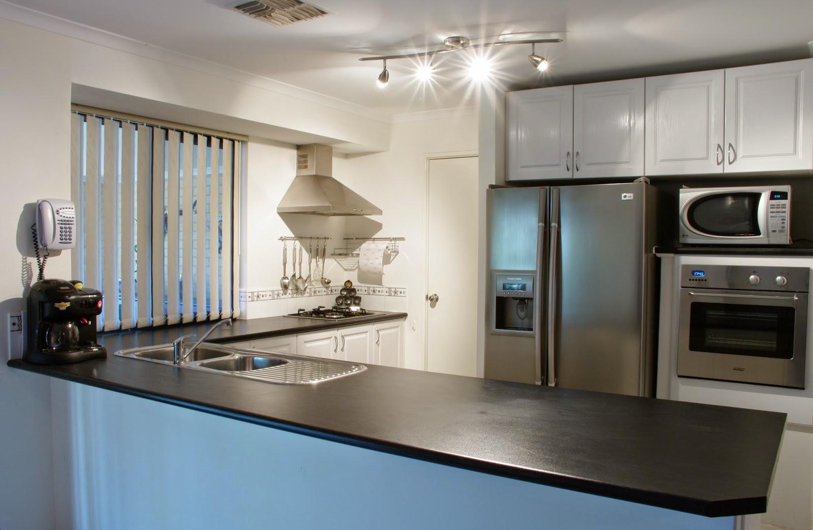 Cozinha Americana planejada! Blog Casa Decorada Ideias para  #446A87 1600 1044