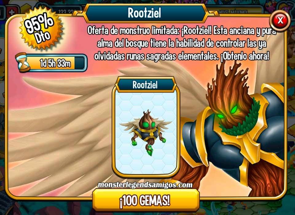 imagen de la oefrat especial del monstruo rootziel