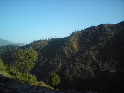 Scenic views on the way to Uttarkashi from Rishikesh