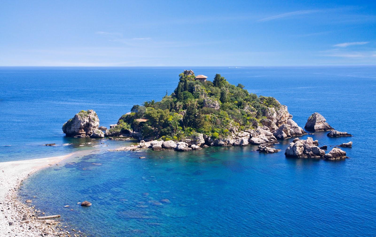 Yacht Charter Sicily Aeolian Islands HD Widescreen Nature Wallpaper