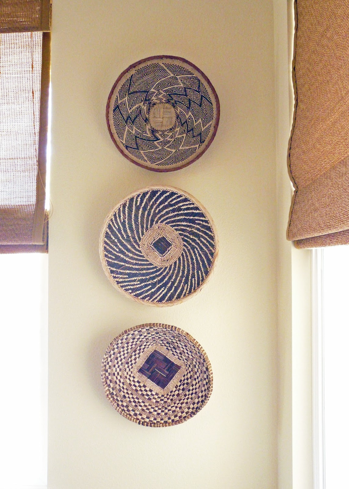 [Home] African Basket Wall Decor